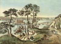 Staten Island and the Narrows from Fort Hamilton (