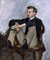Portrait of Auguste Renoir (1841-1919), 1867 (oil