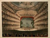 New Covent Garden Theatre, 1810, from 'Ackermann's