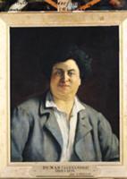 Portrait of Alexandre Dumas pere (1802-70), 1878 (