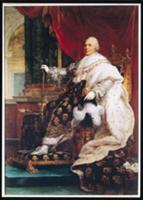 Louis XVIII (1755-1824) (oil on canvas). Artist: G