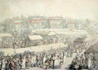 Brook Green Fair (w/c). Artist: Rowlandson, Thomas