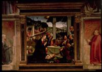 The Birth of Christ. Artist: Ghirlandaio, Domenico