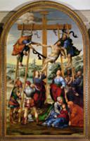 Descent from the Cross, c.1505-10 (altarpiece). Ar