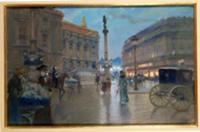 Place de L'Opera, Paris. Artist: Stein, Georges (f