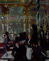 Cafe Royal, London, 1912 (oil on canvas). Artist: