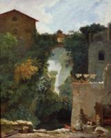The Falls of Tivoli (oil on canvas). Artist: Frago