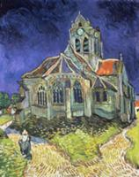 The Church at Auvers-sur-Oise, 1890 (oil on canvas