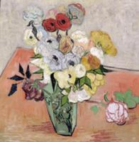 Roses and Anemones, 1890 (oil on canvas). Artist: