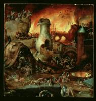 Hell (oil on panel). Artist: Bosch, Hieronymus (c.
