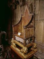 Coronation Chair Made for Edward I in 1300-1301 by