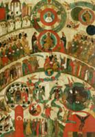 The Last Judgement, icon from the Novgorod school,