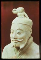 Head of a warrior, Terracotta Army, Qin Dynasty, 2
