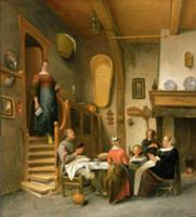 A Family Saying Grace. Artist: Steen, Jan Havicksz