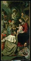 The Adoration of the Magi. Artist: Tristan de Esca