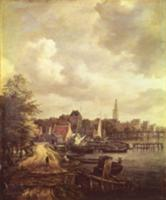 View of Amsterdam. Artist: Ruisdael, Jacob Isaaksz