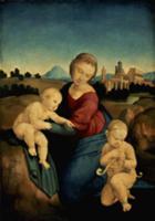 The Esterhazy Madonna. Artist: Raphael (Raffaello
