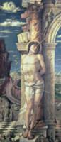 St. Sebastian, c.1459 (tempera on panel). Artist: