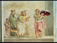 The Street Musicians, c.100 BC (mosaic). Artist: R
