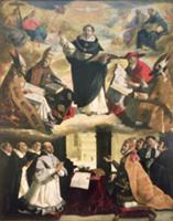 The Apotheosis of St. Thomas Aquinas, 1631 (oil on