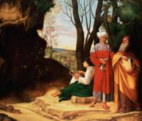 The Three Philosophers. Artist: Giorgione, (Giorgi