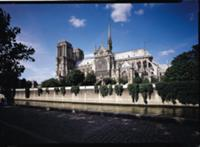 View of the Cathedral from the Seine, 1163-1345 (p