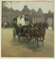Carriages at Hyde Park. Artist: Ludovici, Albert S