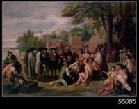 William Penn's Treaty with the Indians in November