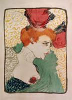 Mademoiselle Marcelle Lender, 1895 (litho and w/c)