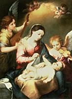 Virgin of the Swaddling Clothes. Artist: Murillo,