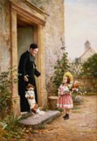 The Priest's Birthday. Artist: Chevilliard, V. (18