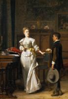 The Valentine Letter. Artist: Willems, Florent (18