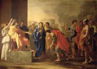 The Continence of Scipio, 1640 (oil on canvas). Ar