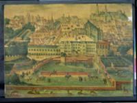 A View of the Royal Palace, Brussels. Artist: Flem