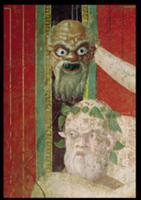 The Head of the Elderly Silenus, Above which is a