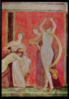 Scourged Woman and Dancer with Cymbals, South Wall