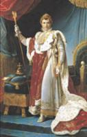 Napoleon I in his coronation robe, c.1804,. Artist