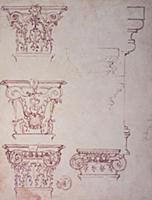 Inv.1859-6-25-549.recto (w.20) Studies for a Capit