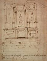 Inv.1859-6-25-543.recto (w.28) Study for the Tomb