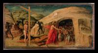 Christ's Descent into Limbo (oil on panel). Artist
