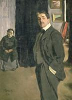 Portrait of Sergei Pavlovich Diaghilev (1872-1929)