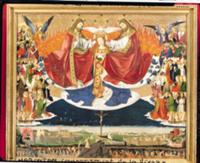 The Coronation of the Virgin, completed 1453 (oil