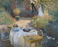The Luncheon: Monet's garden at Argenteuil, c.1873