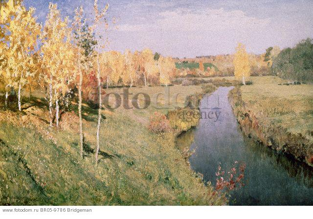 Golden Autumn, 1895 (oil on canvas) , artist: Levitan, Isaak Ilyich (1860-1900)