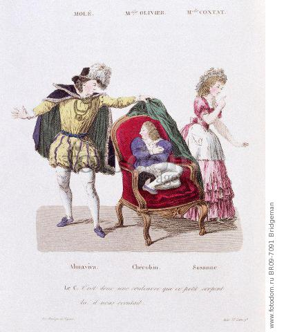 a literary analysis of the marriage of figaro by pierre beaumarchais