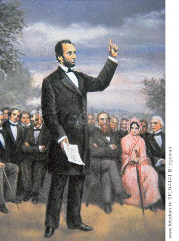an analysis of the good techniques used in abraham lincolns gettysburg address