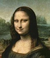 Mona Lisa, c.1503-6 (oil on panel) (detail of 3179