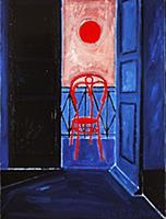 Late Afternoon, 1991 (oil on canvas) , artist: Edw