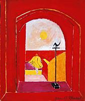 Dream Day, 1991 (oil on canvas) , artist: Edwards,