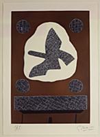 The Bird of Passage, 1961 (aquatint) , artist: Bra